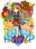 Sarielle {Commission} by etto-sama