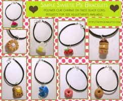 Simple Sweetie Pie Bracelets by tedsie