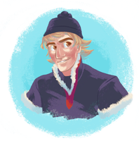 Kristoff bust by candydoodlz