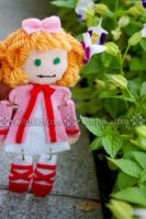Hina Ichigo plushie:::: by Witchiko