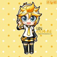 Vocaloid - Len Kagamine by Akage-no-Hime