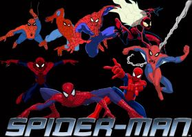 Spider-Man Animated Series by stick-man-11