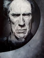 Clint Eastwood by boscabheag