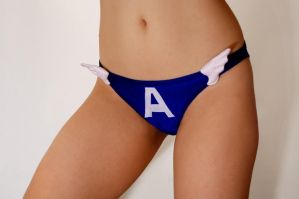 Captain America panty by AcidDaisy