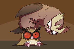 The Hoothoot Family