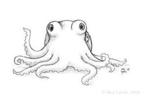 Friendly Octopus by MegLyman