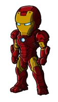 Chibi Movie Iron Man Mk 3 by GuyverC