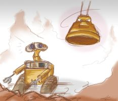 Watch Out, WallE by Spambi