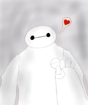 Baymax by Opal-the-fluffmaker