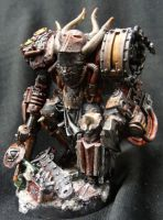 Warboss of khorne by Solav