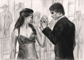 Elena and Damon - Dance scene by thecheesecake