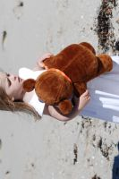 Me and my teddy 1 by stockmichelle