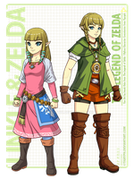 Linkle (Hylian Outfit) by jonah-onix