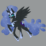 Pone-A-Day 40: Nightmare Moon by DeusExEquus