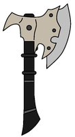 Lycan War Axe by NeonBlacklightTH