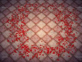 Rose petals at your feet 2 by Trisste-stocks