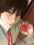 Spain has his tomato - hetalia spain cosplay by Returnmemory