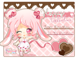 Happy Valentine Day by RinaShuu