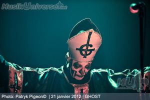 Ghost - Papa Emeritus by MrSyn