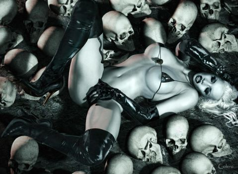 Lady Death by colero