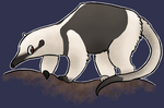Northern tamandua by littletindog
