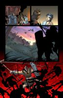 David Y Goliath page 7 Color by Sandoval-Art