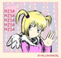 Misa by HalloweenGirl