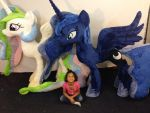 Life Size Luna And Celestia by KarasuNezumi