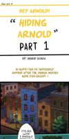 Hiding Arnold -Hey Arnold Comic (PART 1) by ingridochoa
