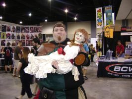 Me with Annabelle by Robot001