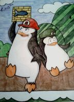 Super Penguin Bros. by Fishy716