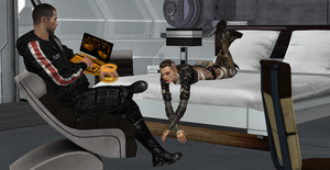 Mass Effect: Business Before Pleasure by Aceaviator