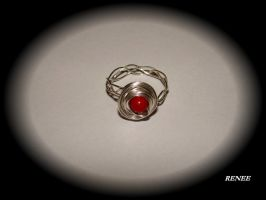 Ring with Coral by jasmin7