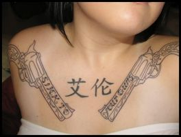 revolver tattoos II... by xstal