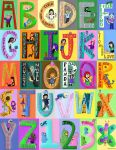 Alphabet - Complete by Phoneix-Faerie