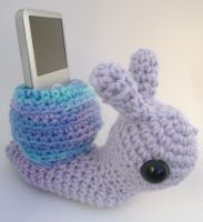 snail cell phone holder 2 by e1fy
