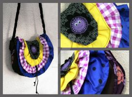 Psychedelic bag by Faeriedivine