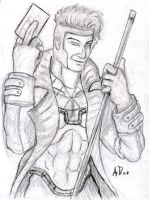 Gambit Pencil by andydiehl