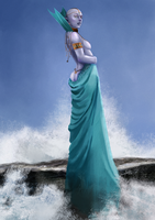 Lady of the Sea by Striped-Stocking