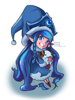 Winter Wonder Lulu by scmillerart