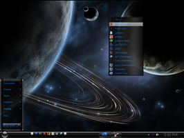 Win7 Black Mini Theme by KeybrdCowboy