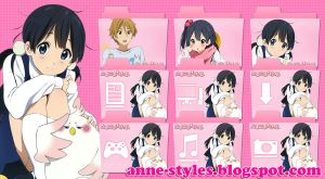 Pack Icons Tamako Market by AnneChan34