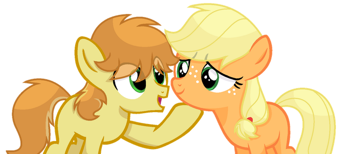 .:A Visit To Apple Loosa:. Don't you worry... by SapphireArtemis