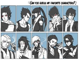 Favorite Character Meme by AndouHayate