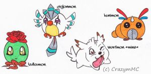 Set Digimon Adoptable 1 ++ In Training ++ Closed by CrazymMC
