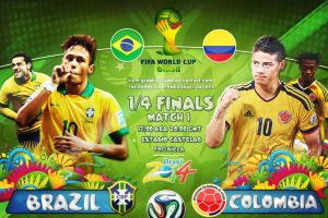 Brazil - Colombia by HkM-GraphicStudio