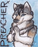 Preacher Badge by shiverz