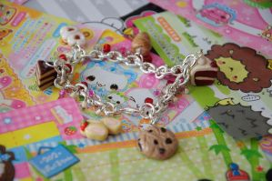 Sinfully Sweet Charm Bracelet by Demi-Plum