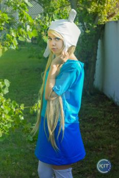 Fionna | Adventure time by kitartworks