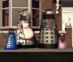 The Daleks at No17 by Timewyrm